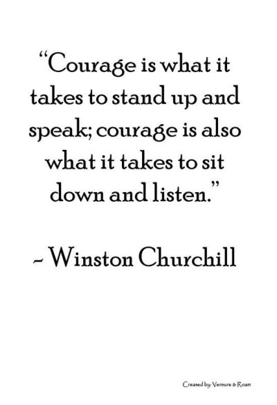 CourageToStandUpAndSpeak